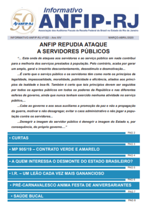 INFORMATIVO ANFIP-RJ nº122 – Ano XIV